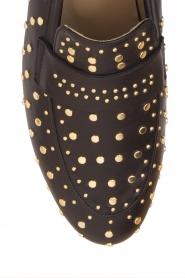 Toral | Loafer met gouden studs Videl | zwart  | Afbeelding 6