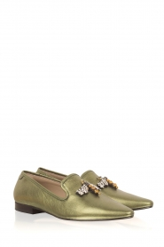 Toral |  Metallic loafer Cadmio | Green  | Picture 4