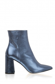Toral |  Metallic ankle boots Lolita | Blue  | Picture 1
