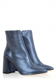 Toral |  Metallic ankle boots Lolita | Blue  | Picture 3