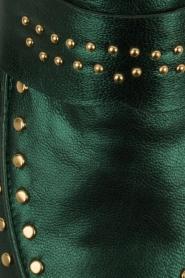 Toral   Loafers met gouden studs Alisa   groen    Afbeelding 5
