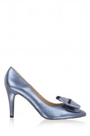 Toral | Metallic pump Lela | Blauw  | Afbeelding 1