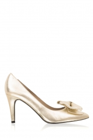 Metallic pump Lela | goud