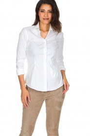 Souad Feriani |  Blouse Basic | white  | Picture 2