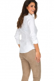 Souad Feriani |  Blouse Basic | white  | Picture 5