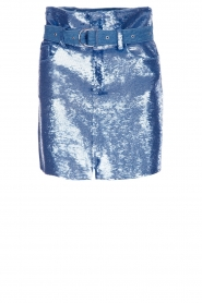 IRO |  Sequin skirt Natou | blue   | Picture 1