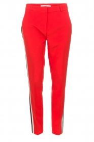 Aaiko | Pantalon Sare | rood  | Afbeelding 1