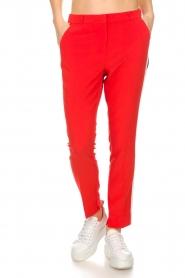 Aaiko | Pantalon Sare | rood  | Afbeelding 2