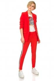 Aaiko | Pantalon Sare | rood  | Afbeelding 3