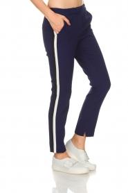 Aaiko | Pantalon Sare | blauw  | Afbeelding 3