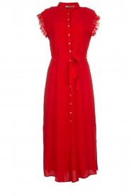 Aaiko | Maxi-jurk Nika | rood  | Afbeelding 1