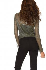 Dante 6 | Overslag blouse Fushion | goud  | Afbeelding 6