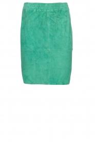 Dante 6 |  Suéde skirt Comet | green  | Picture 1