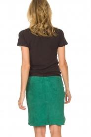 Dante 6 |  Suéde skirt Comet | green  | Picture 5