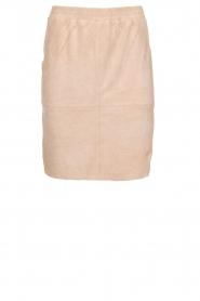 Dante 6 |  Suéde skirt Comet | nude  | Picture 1