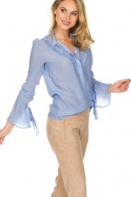 Dante 6 |  Blouse Odell | blue  | Picture 2