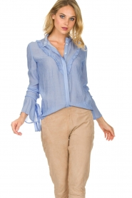Dante 6 |  Blouse Odell | blue  | Picture 6