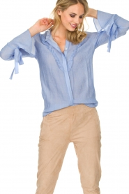 Dante 6 |  Blouse Odell | blue  | Picture 4
