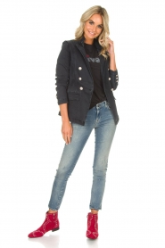 Hunkydory |  Denim blazer Reba | grey  | Picture 3