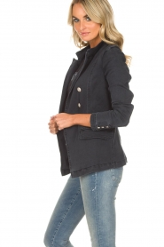 Hunkydory |  Denim blazer Reba | grey  | Picture 5