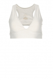 Varley |  Sports bra Brooks Crop | off-white  | Picture 1