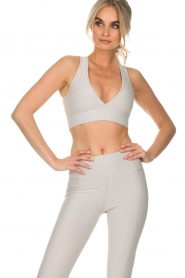 Varley |  Sports bra Brooks Crop | off-white  | Picture 2