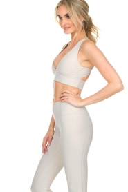 Varley |  Sports bra Brooks Crop | off-white  | Picture 6