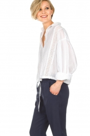 Hunkydory   Blouse Ruby Swing   wit    Afbeelding 4