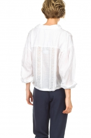 Hunkydory   Blouse Ruby Swing   wit    Afbeelding 5