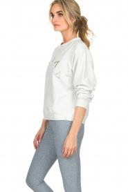Varley |  Sweatshirt Knoll | white  | Picture 4