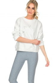 Varley |  Sweatshirt Knoll | white  | Picture 2
