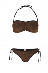 Becksöndergaard |  Bandeau bikini Stephanie | gold  | Picture 1