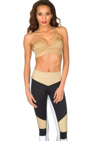 L'URV |  Sports bra Shimmer Me | gold  | Picture 2