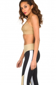 L'URV |  Sports bra Shimmer Me | gold  | Picture 4