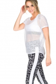 L'URV | Mesh top Bring It | wit  | Afbeelding 4