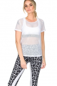 L'URV | Mesh top Bring It | wit  | Afbeelding 2