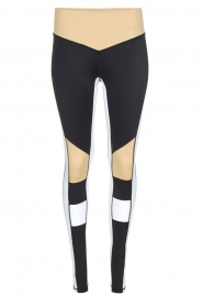 Sportlegging Burn It up | zwart