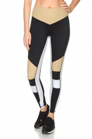 L'URV | Sportlegging Burn It up | zwart  | Afbeelding 2