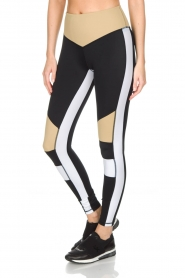 L'URV | Sportlegging Burn It up | zwart  | Afbeelding 4