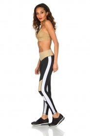 L'URV | Sportlegging Burn It up | zwart  | Afbeelding 6