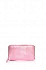 Becksöndergaard | Metallic portemonnee Lobo Glitz | roze  | Afbeelding 2