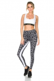L'URV |  Sports leggings Work It Out | black  | Picture 3
