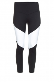 L'URV |  Sports leggings Race Ready | black white  | Picture 1