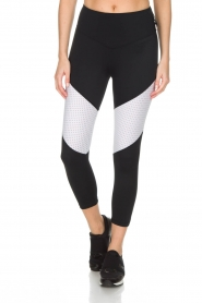 L'URV |  Sports leggings Race Ready | black white  | Picture 2