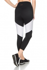 L'URV |  Sports leggings Race Ready | black white  | Picture 5