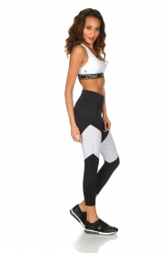 L'URV |  Sports leggings Race Ready | black white  | Picture 6