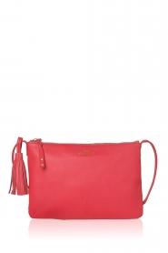 Becksöndergaard |  Leather shoulder bag Lymbo | pink  | Picture 2
