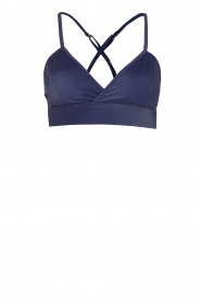 L'URV | Bralette Shine On | blauw