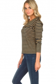 Munthe |  Top with ruffles Providence | gold  | Picture 5