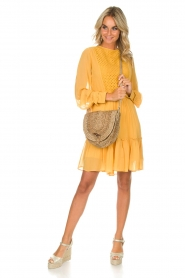 Munthe |  Dress Penny | yellow  | Picture 3